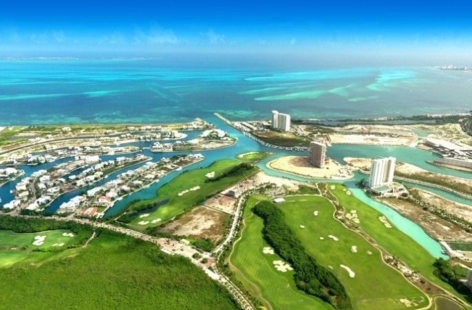 1 de 4: terreno venta puerto cancun