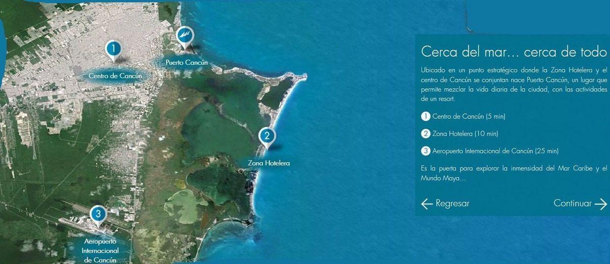 4 de 4: venta terreno exclusivo desarrollo puerto cancun