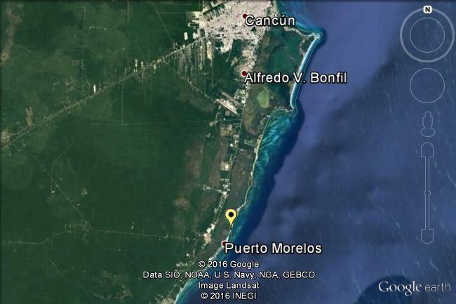 1 de 3: Terreno en venta en Puerto Morelos