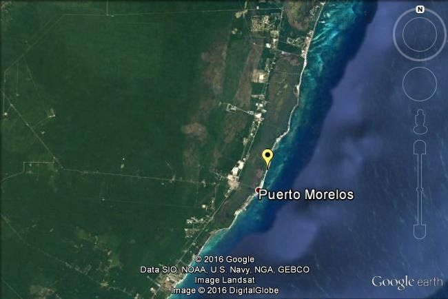 2 de 3: Terreno en Puerto Morelos con playa