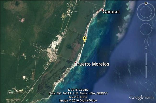 3 de 3: venta terreno puerto morelos con playa