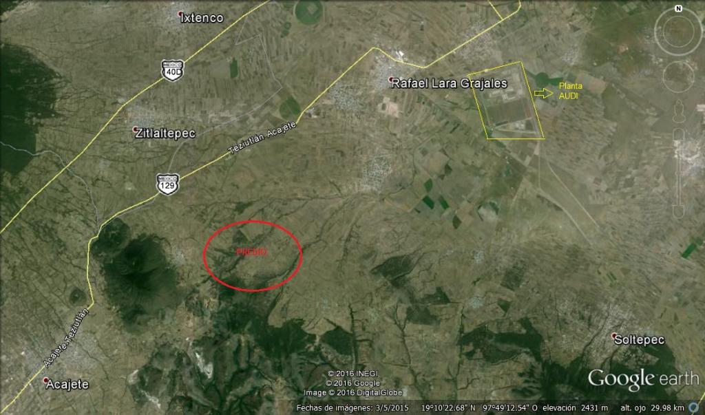 1 de 2: Terreno en venta Nopalucan de la Granja, Puebla