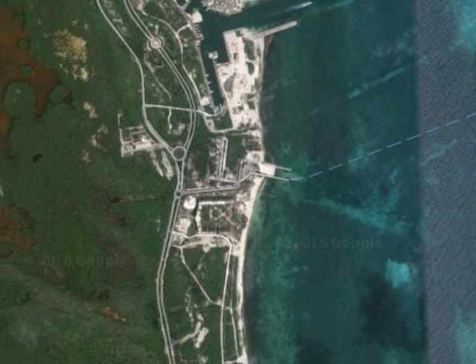 2 de 3: Terren en venta Punta Sam Cancun