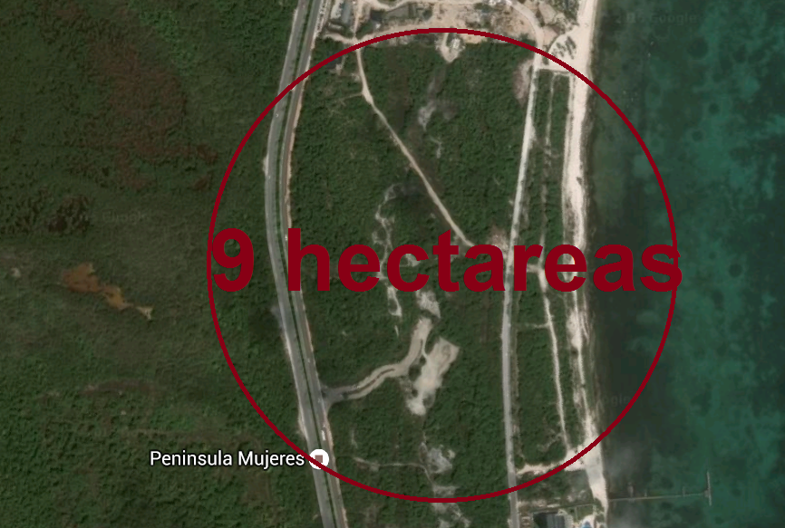 3 de 3: Terreno comercial en Punta Sam Cancun