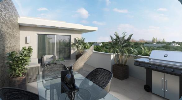 5 de 13: Opción de terraza privada 4to nivel