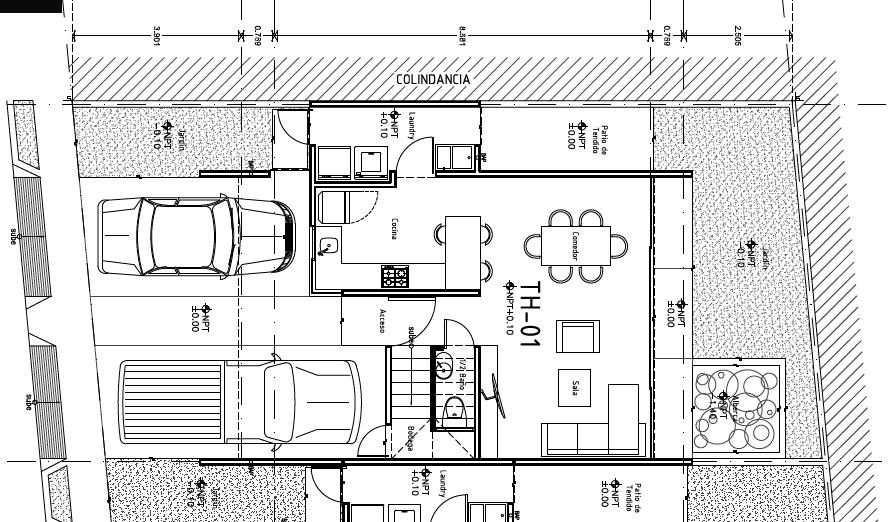 6 de 15: Distribución Townhouse tipo
