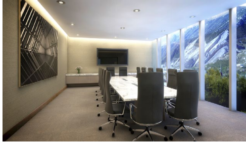 7 de 9: Sala de juntas en Business Center