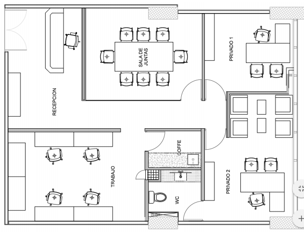 4 de 6: Distribución Oficina
