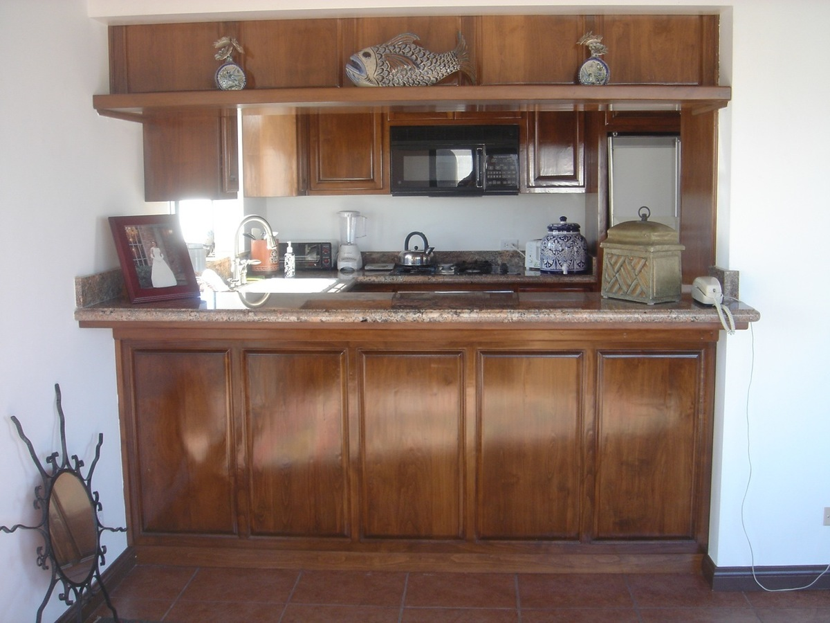 20 de 22: cocina de la casita de huespedes