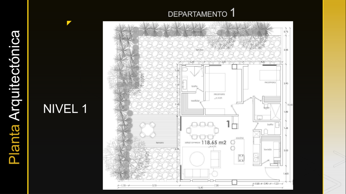 9 de 26: Departamento Nivel 1