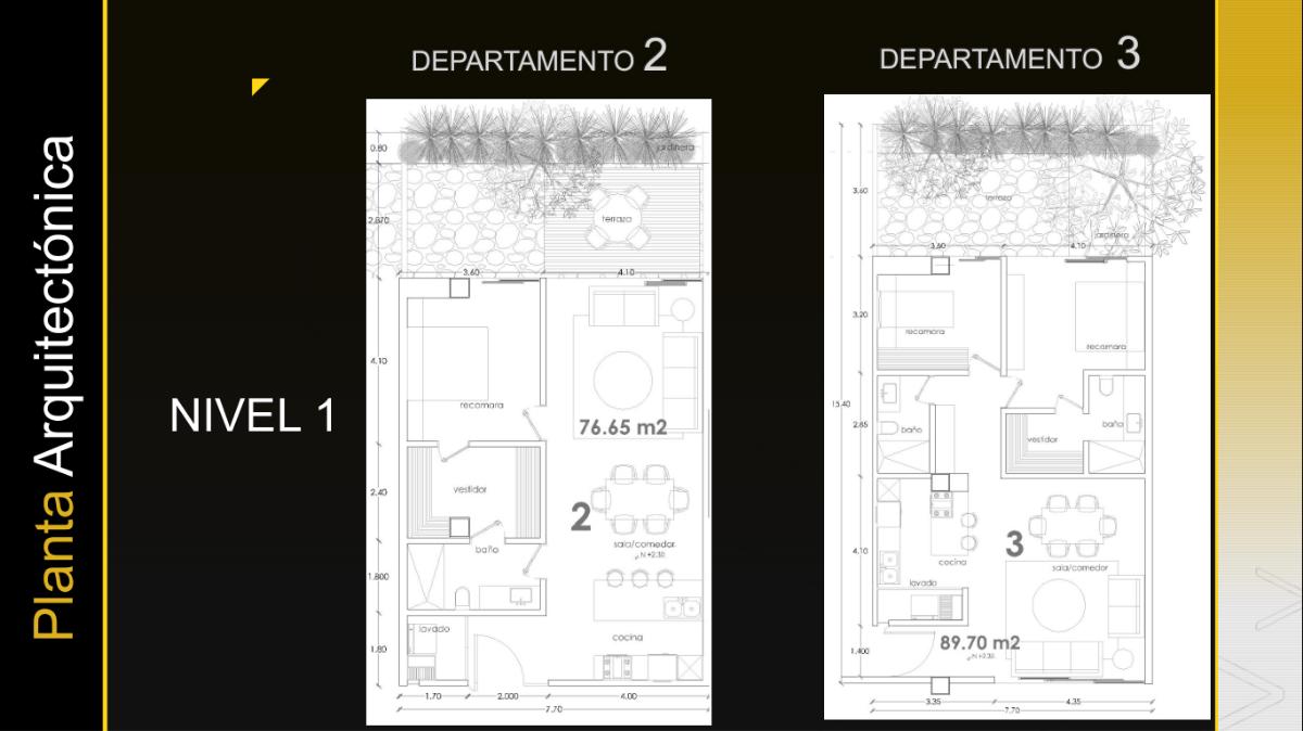 10 de 26: Departamento 2 y 3 Nivel 1