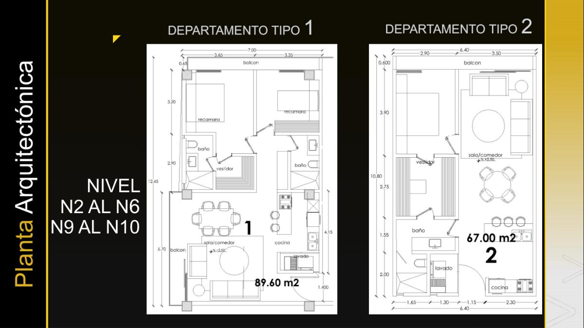 11 de 26: Departamento Tipo 1 - 2