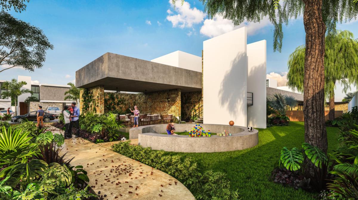 Casa Nueva En Venta En Privada Olivos Modelo 215 Cholul