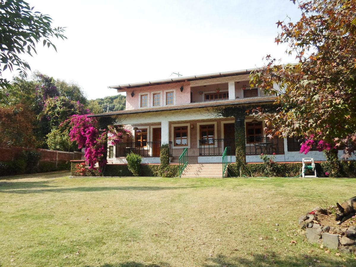 42 de 42: Vista posterior del hotel y jardines