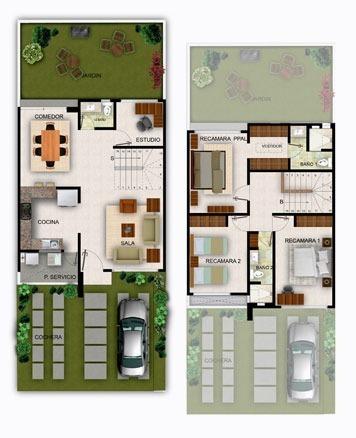 6 de 13: Planta arquitectónica modelo San Diego