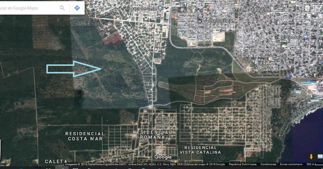 2 de 3: Ubicación lotes de terrenos La Romana
