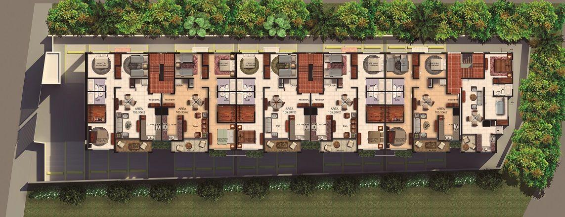 5 de 6: Edificio completo