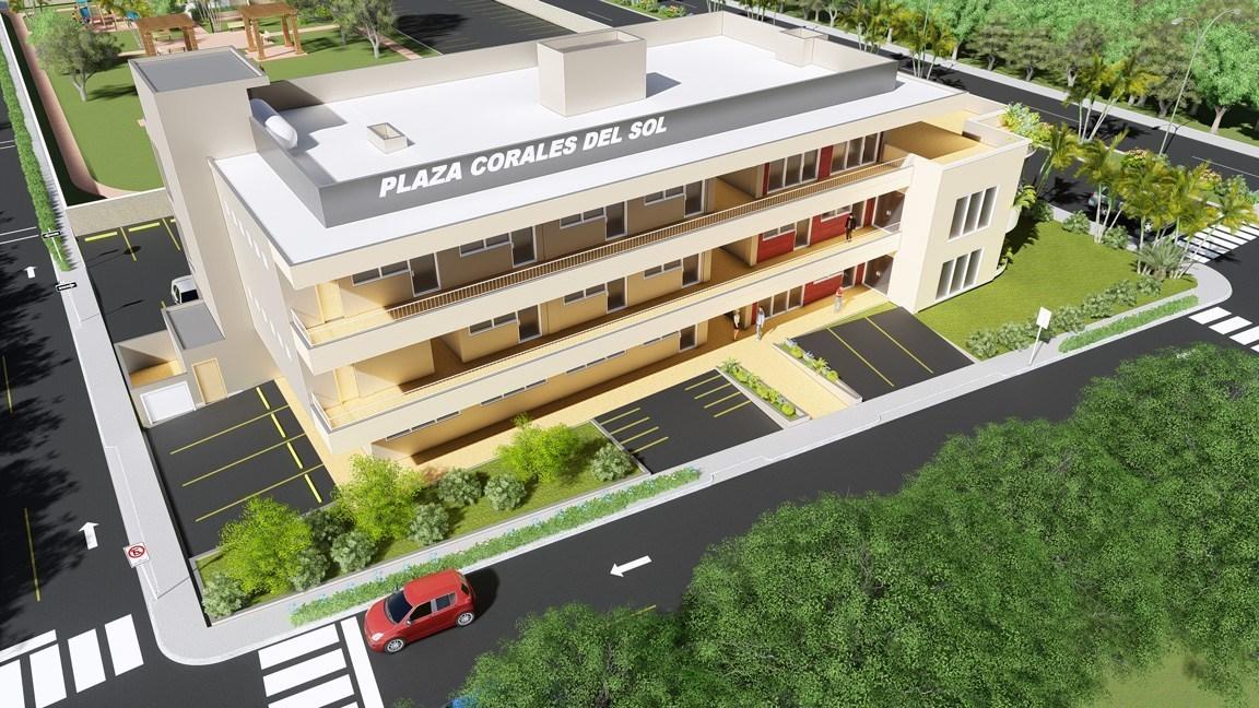 12 de 12: Plaza Comercial Corales del Sol próximo al proyecto.