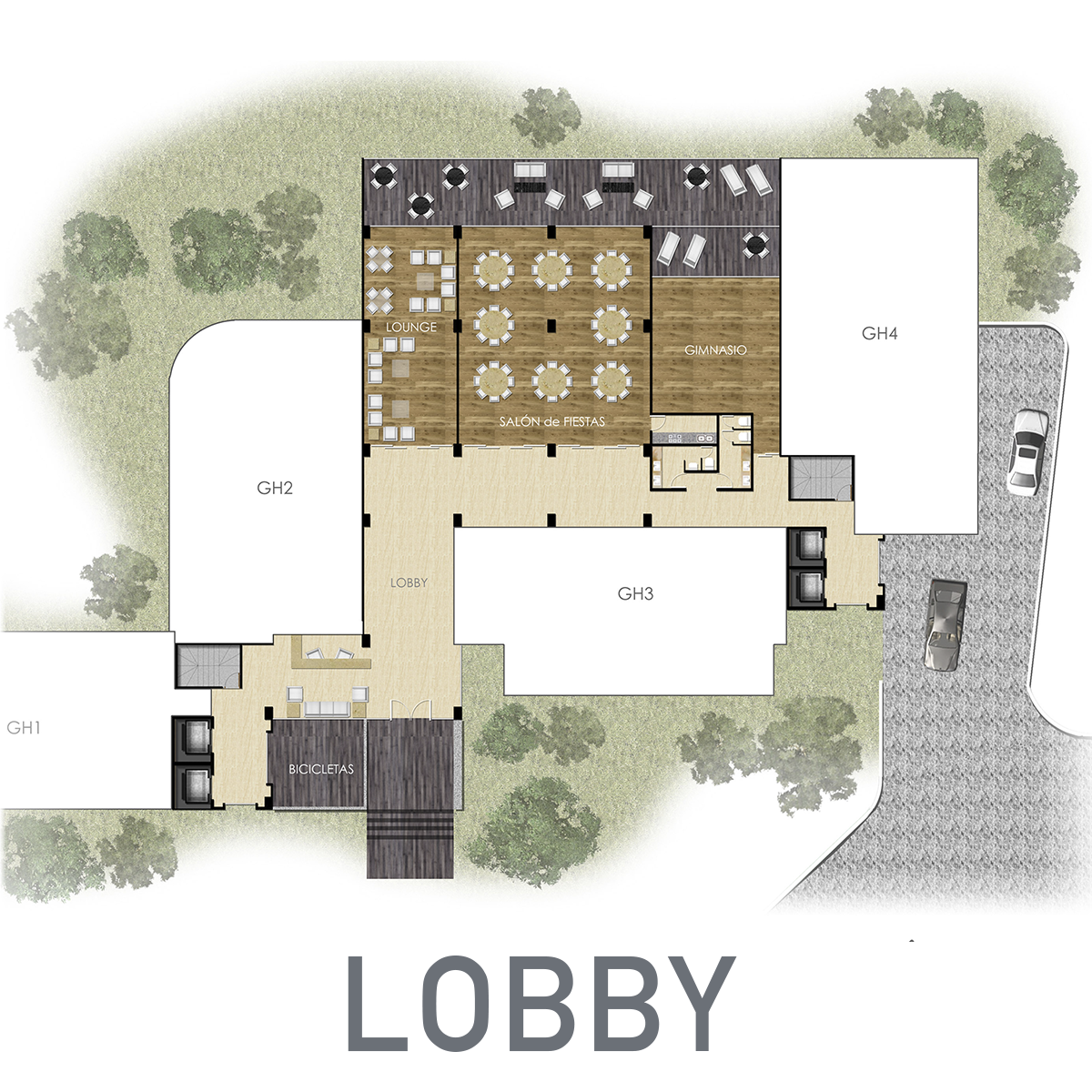 10 de 11: Lobby