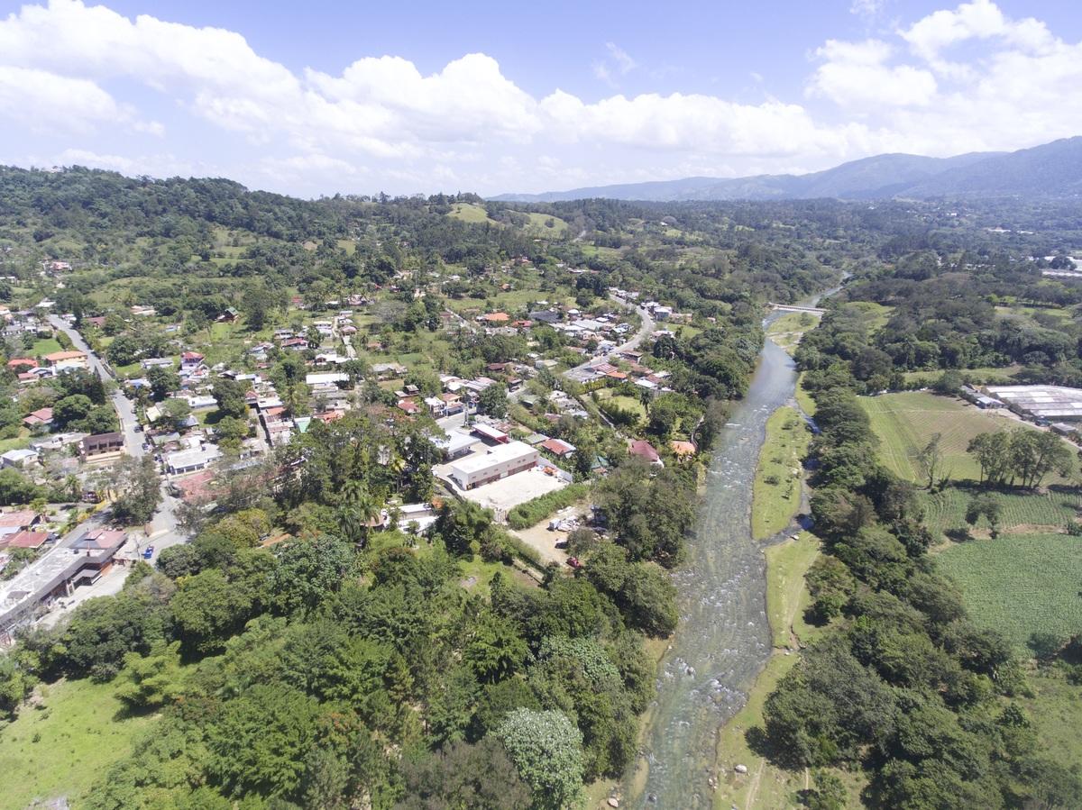 2 de 10: Vista aérea de la zona donde estarán las villas