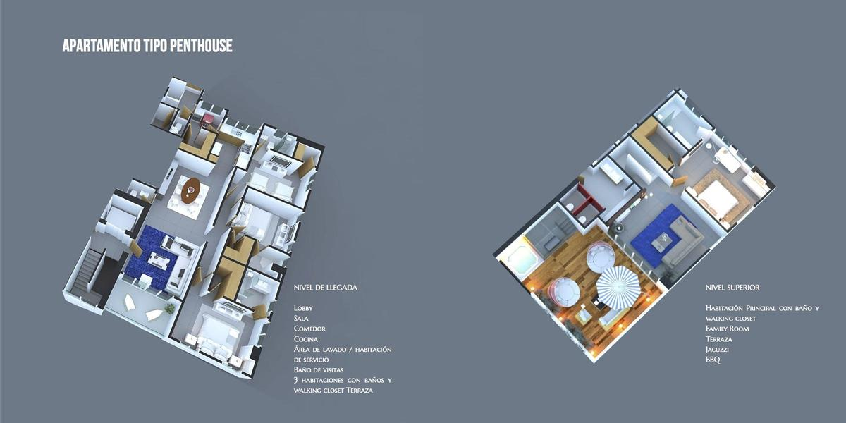 7 de 8: Modelos de apartamentos