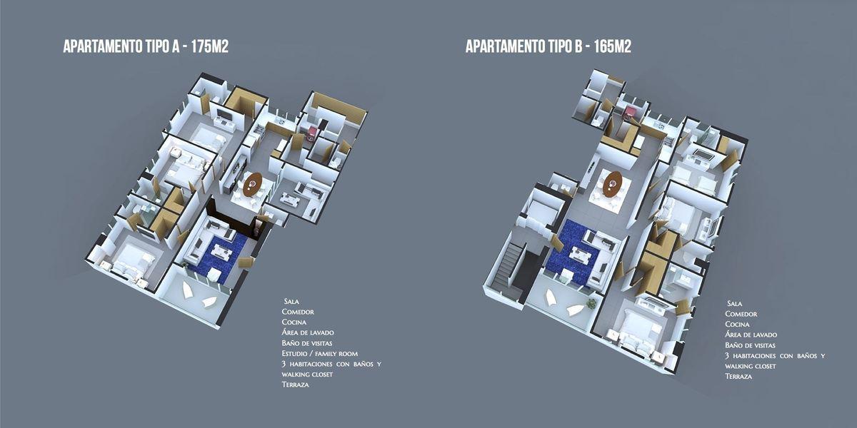 8 de 8: Modelos de apartamentos