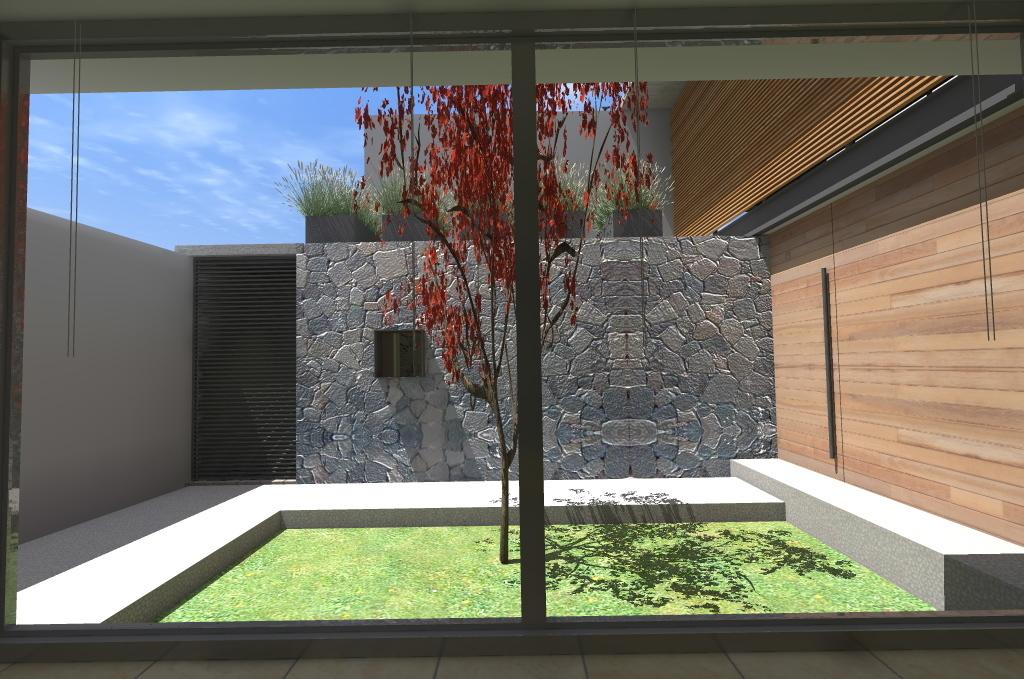5 de 16: Jardín Interior