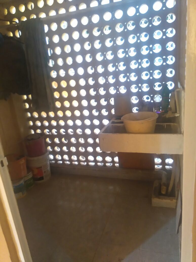 11 de 19: Patio de servicio (Área de lavado)