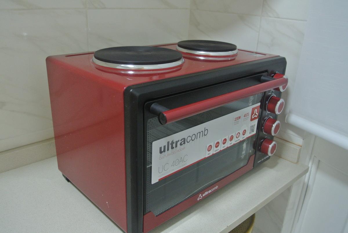11 de 27: horno electrico con anafe