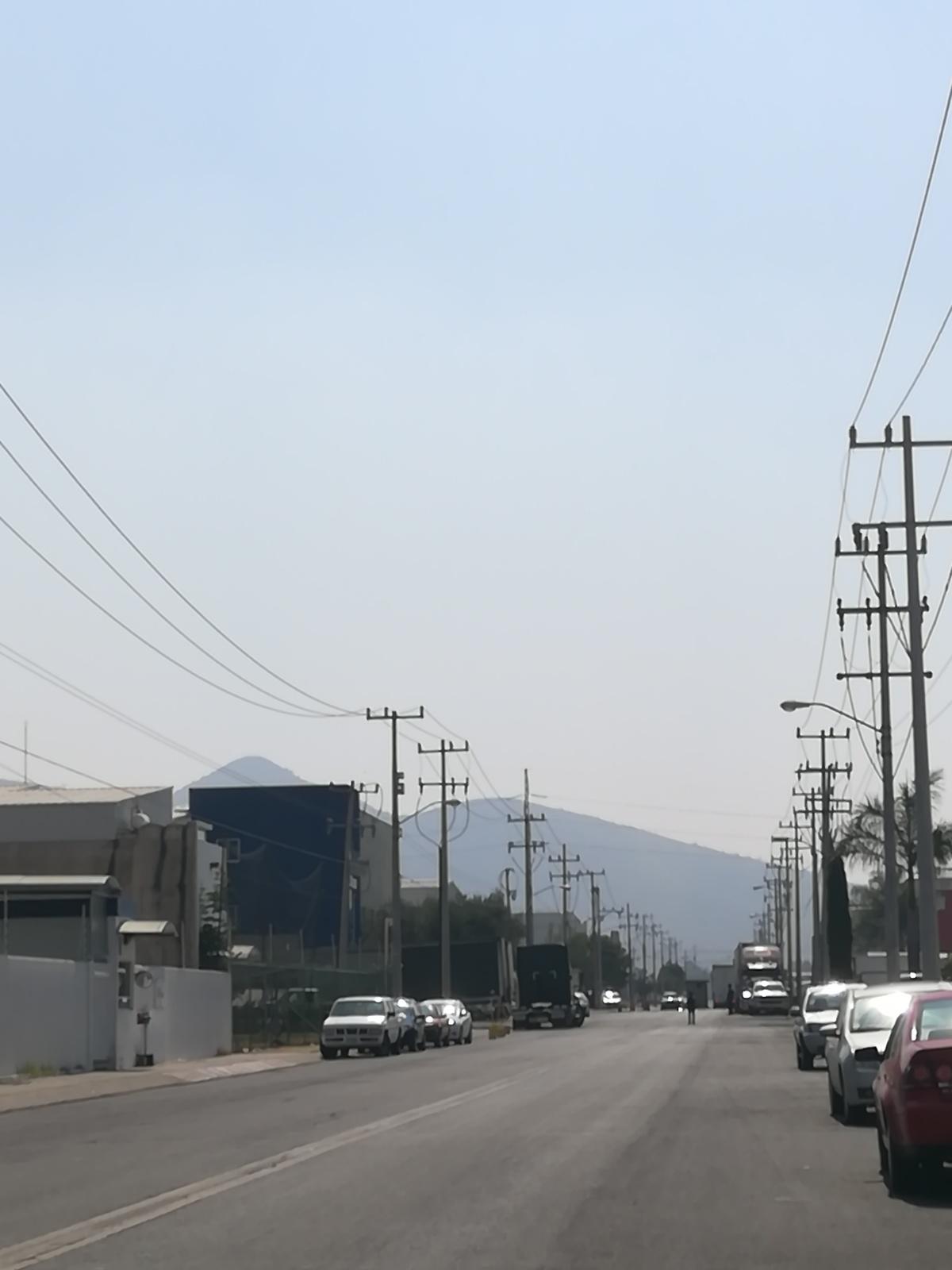 18 de 19: Acceso al parque Industrial con vigilancia
