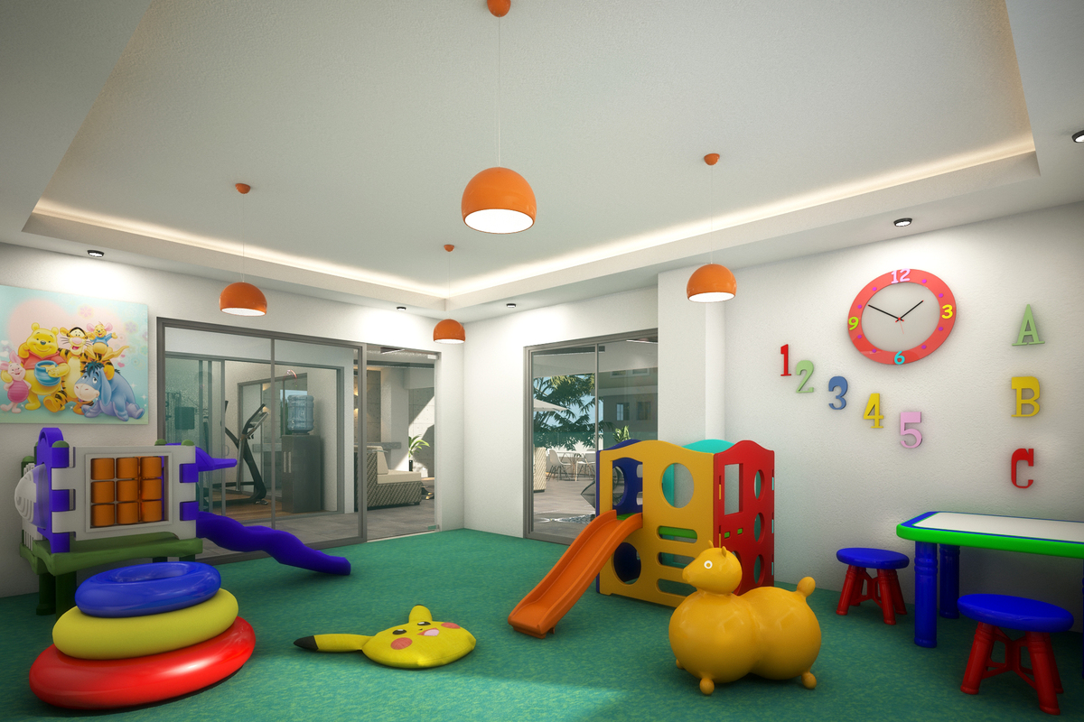 4 de 8: Área de niños