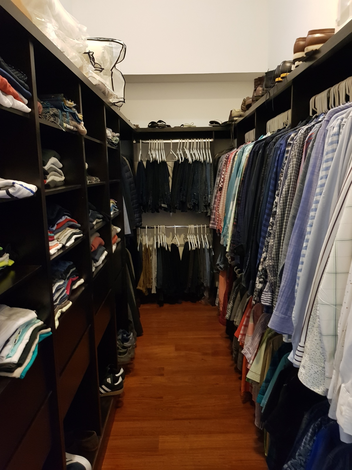 10 de 12: Walk-in closet