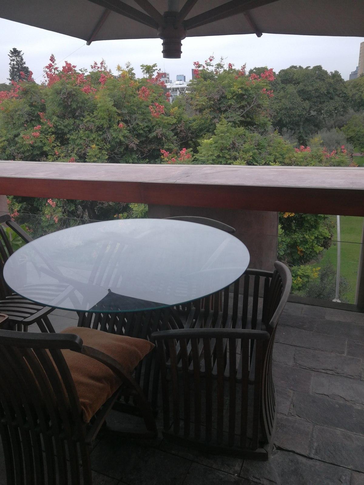 8 de 31: Maravillosa Terraza Privada con vista al Bosque El Olivar