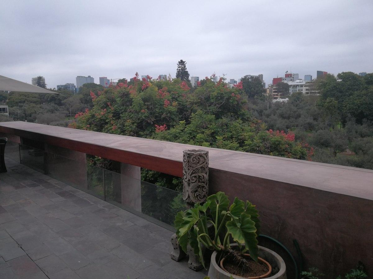 11 de 31: Maravillosa Terraza Privada con vista al Bosque El Olivar