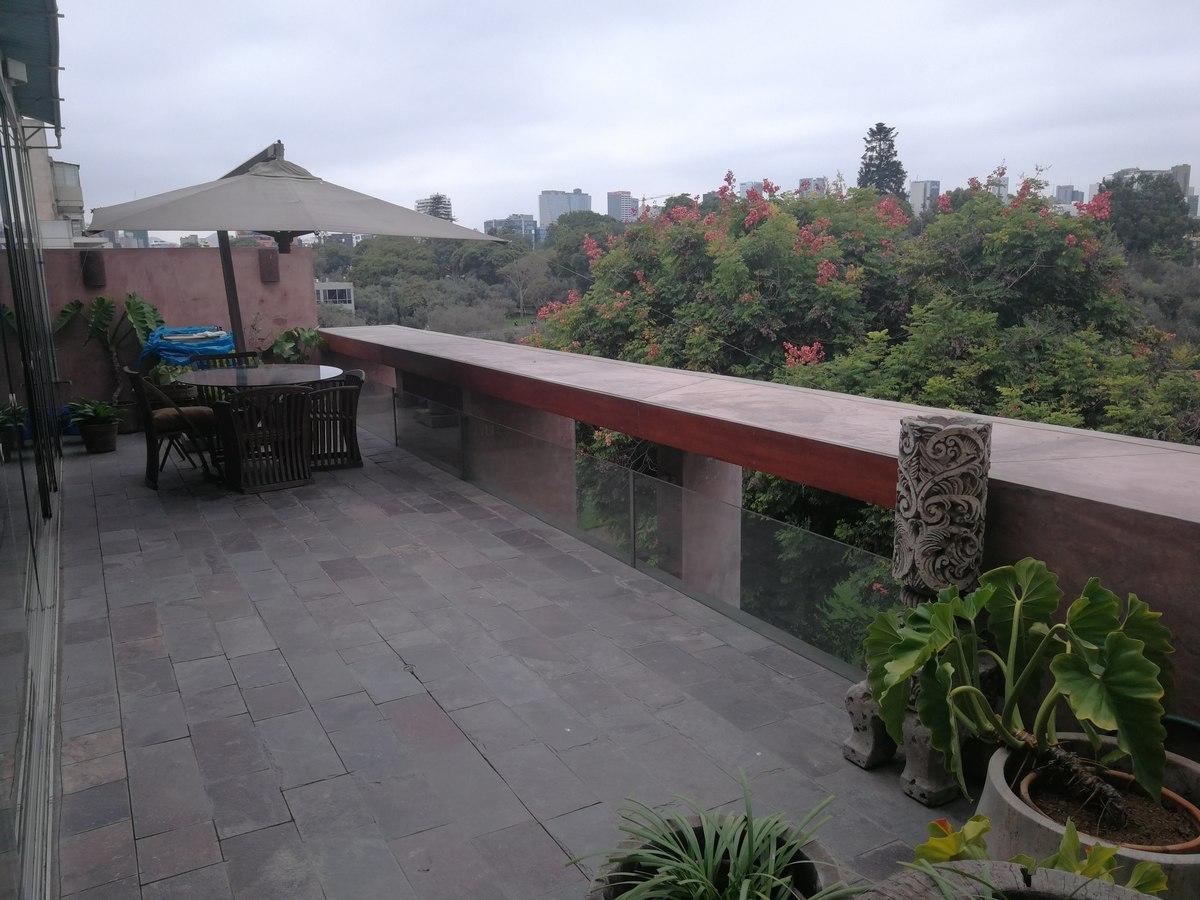 12 de 31: Maravillosa Terraza Privada con vista al Bosque El Olivar