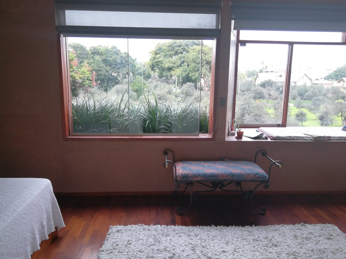 13 de 31: Dormitorio Secundario con maravillosa vista al bosque