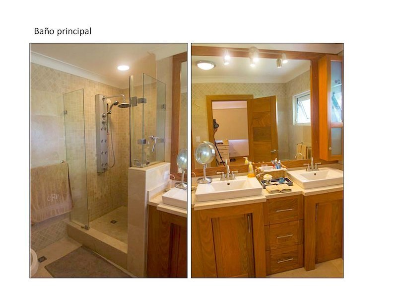 6 de 13: Baños habitaciones secundarias
