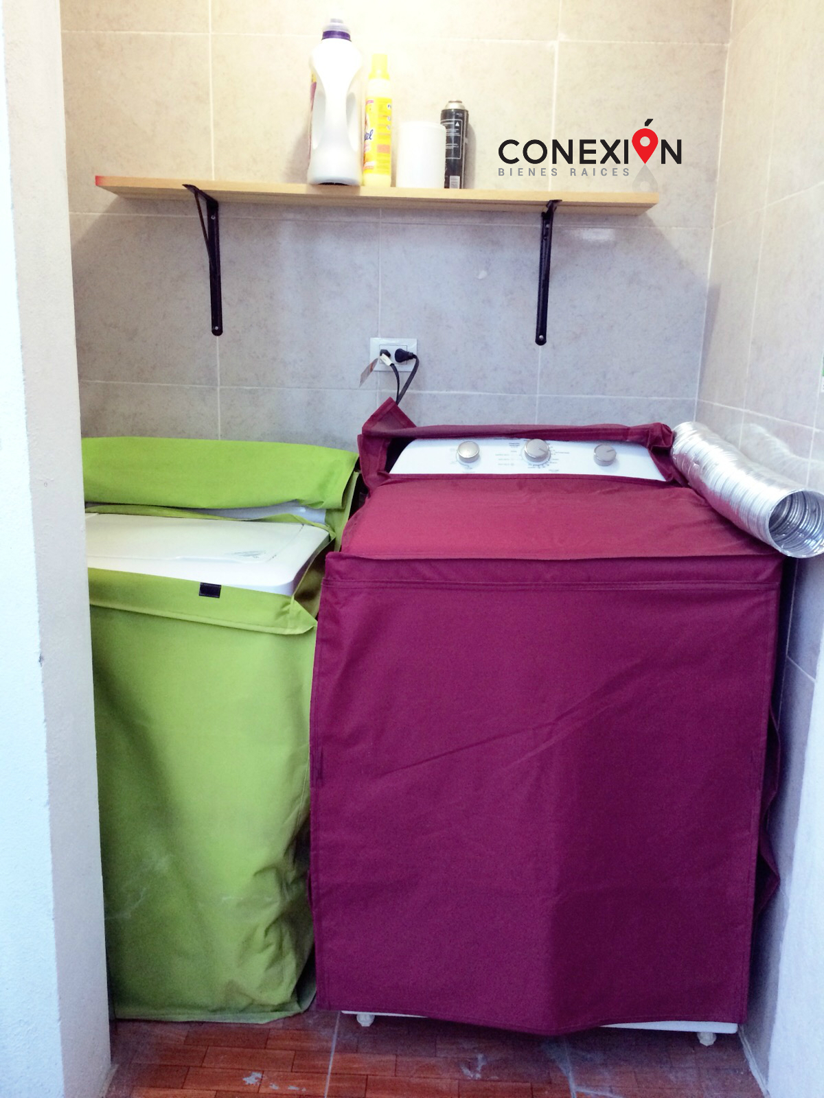 4 de 6: Área de lavado y secado