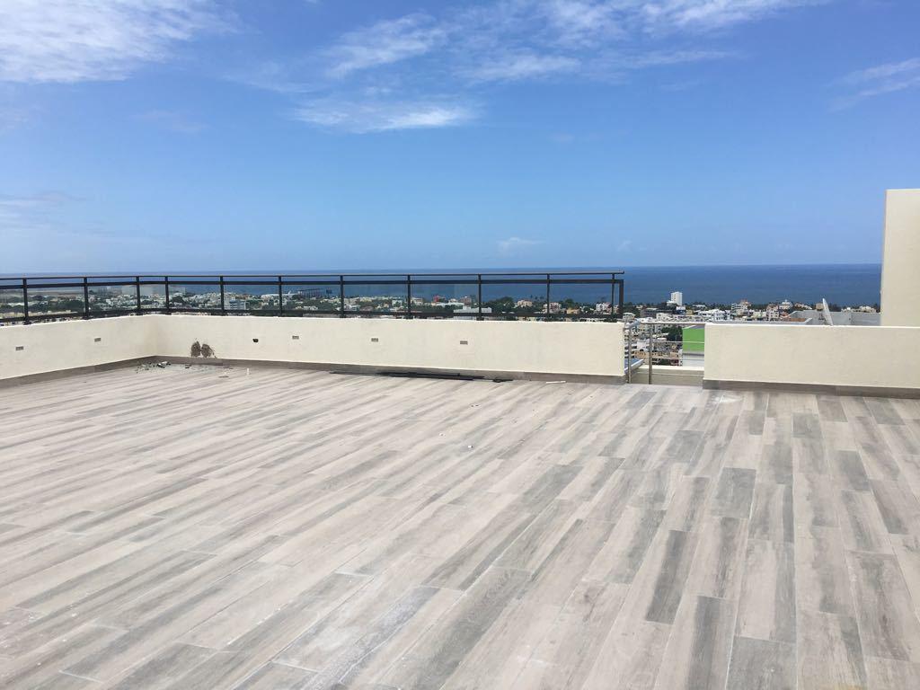 3 de 9: Terraza con preciosa vista al mar