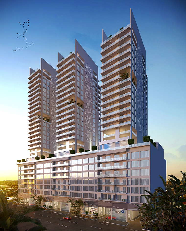 1 de 17: Edificio Inteligente en Miami