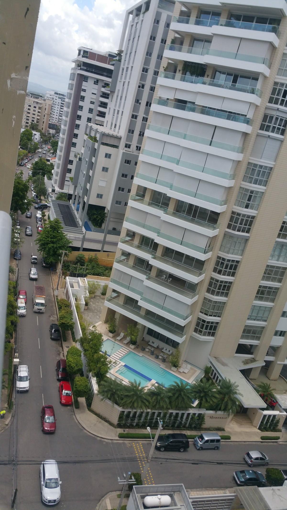 8 de 20: vista panorámica desde el balcon