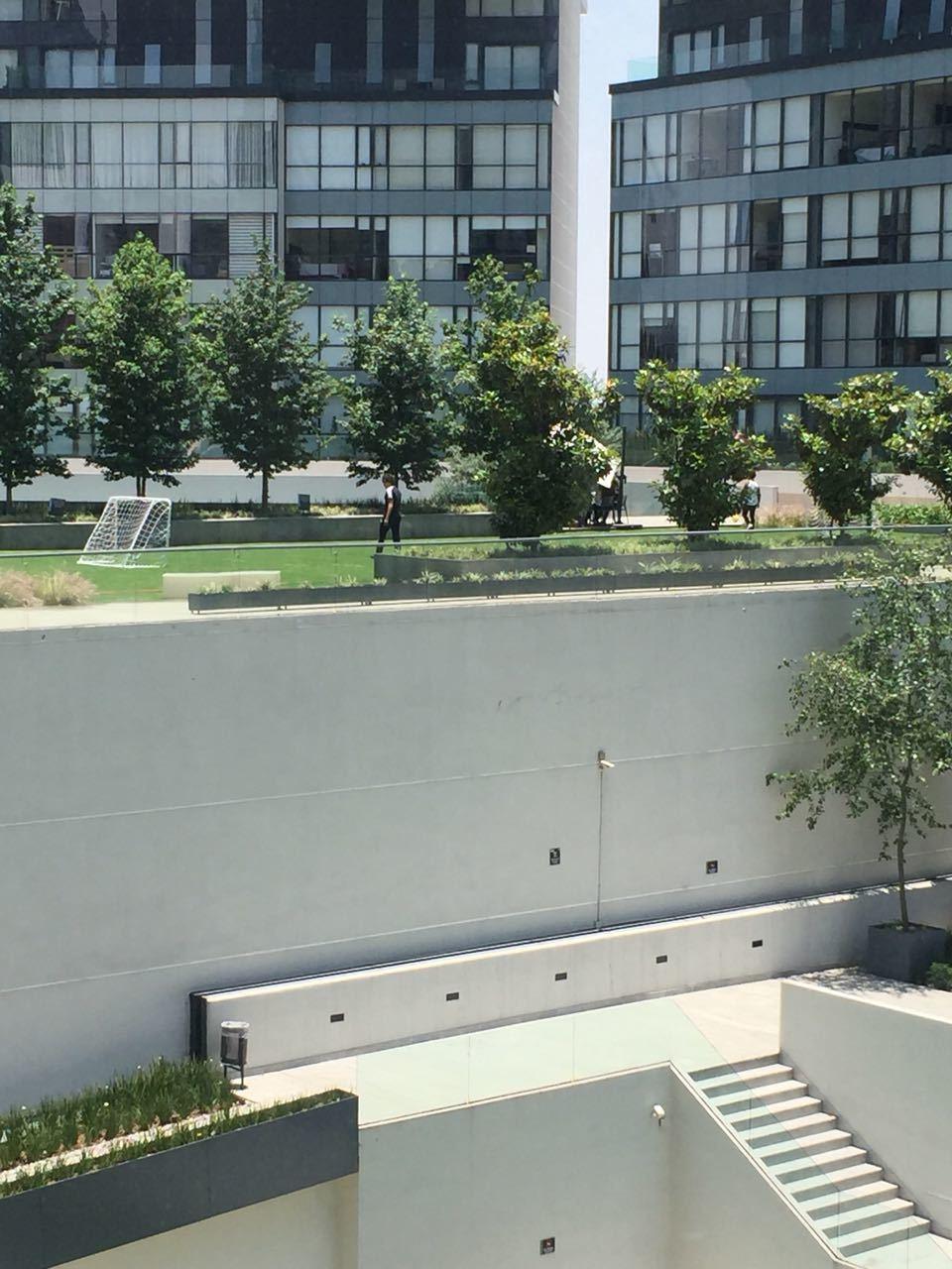 17 de 39: Vista a las áreas verdes desde el departamento