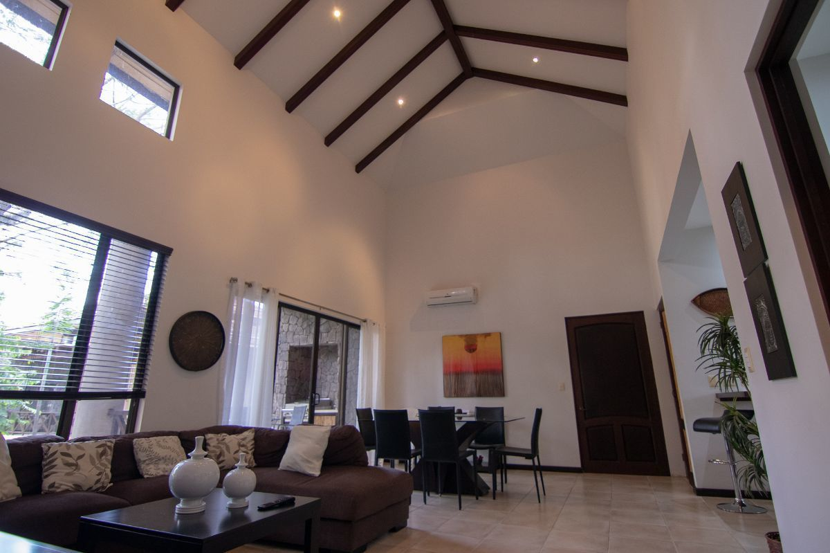 1 of 17: Living room with gigantic vaulted ceilings