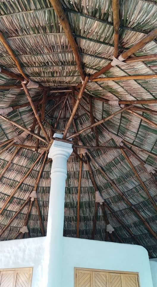 Construccion de ranchos de palma piscinas fuentes y for Construccion de fuentes y cascadas