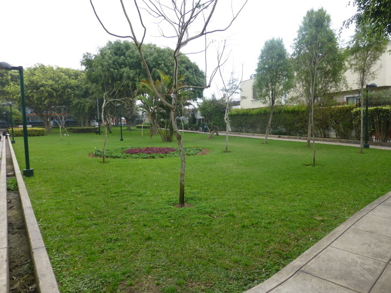 16 de 19: Parque privado a media cuadra