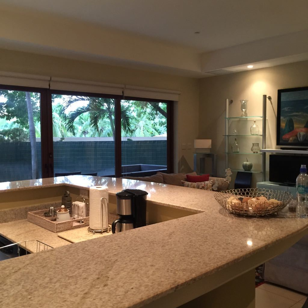 5 of 18: Large equipped kitchen