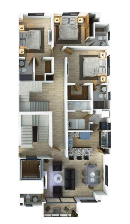 4 of 4: Venta apartamento en construcción Mirador Sur