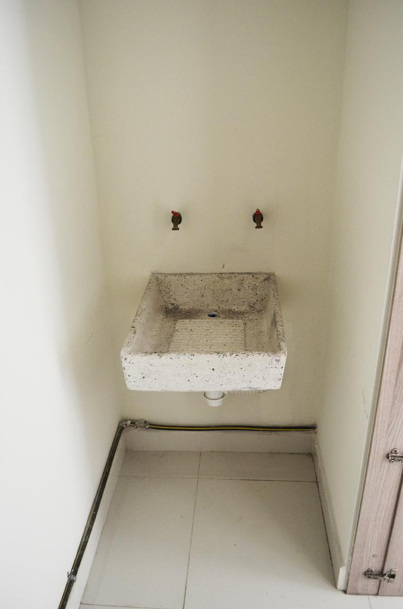 8 de 29: área de lavado integrado a la cocina