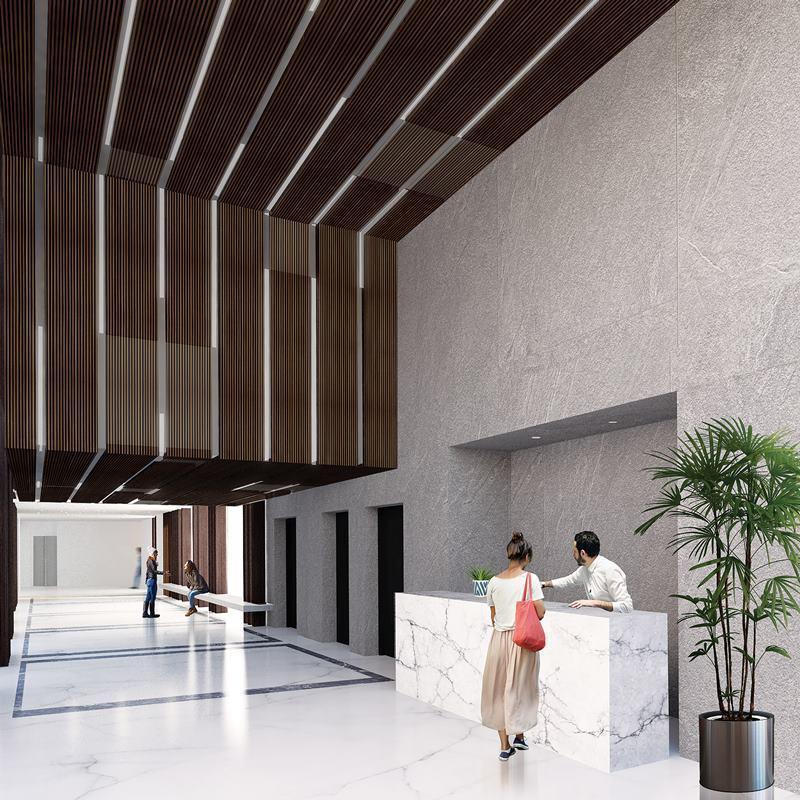 2 de 10: Imagen referencial del proyecto en construcción.