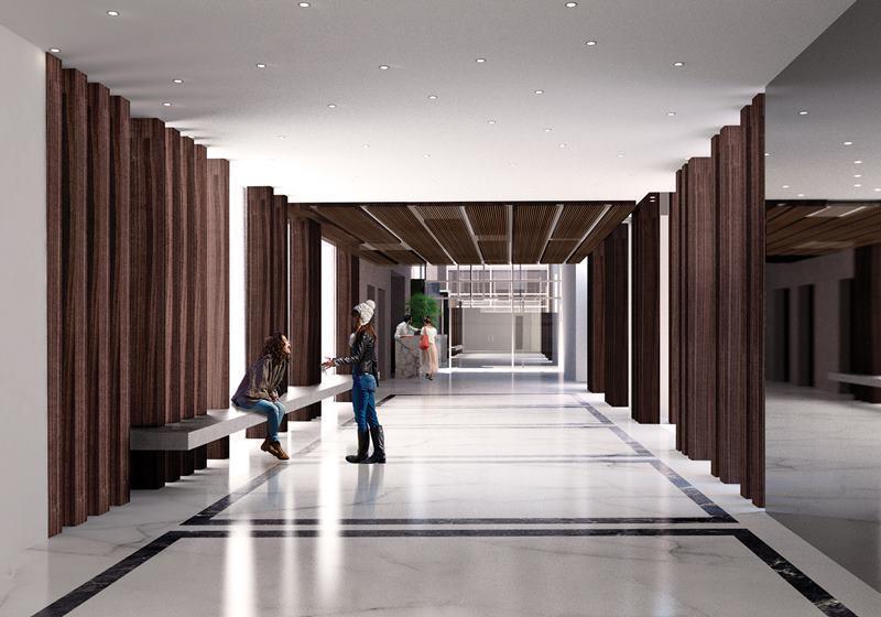 5 de 10: Imagen referencial del proyecto en construcción.